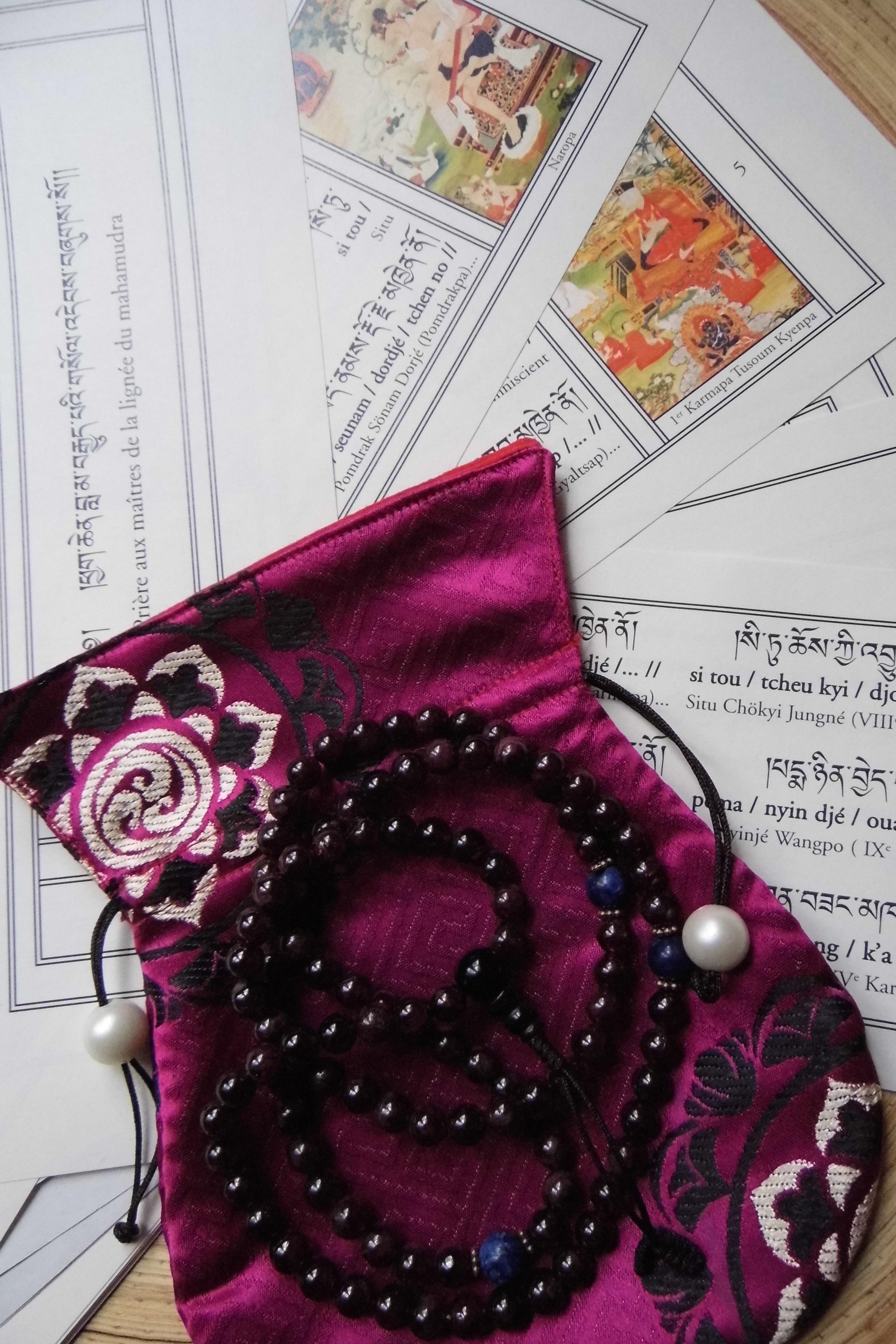 Catherine Lirot dharma bodhisattva éveil mantra